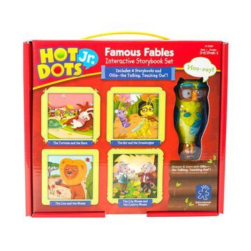 Educational Insights Hot Dots Jr. Famous Fables Storybook Set