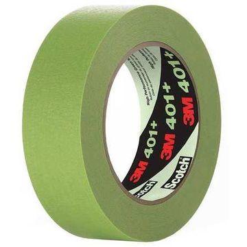 Masking Tape,Green,3-25/32 W,Circle,PK8