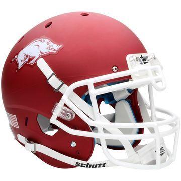 Arkansas Razorbacks Schutt Full Size Authentic Helmet