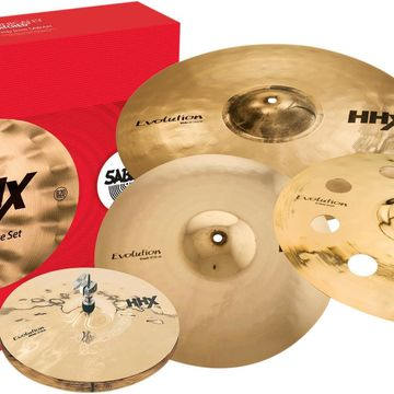 HHX Evolution Cymbal Set with Free 18