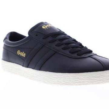 Gola Trainer Black Off White Mens Low Top Sneakers