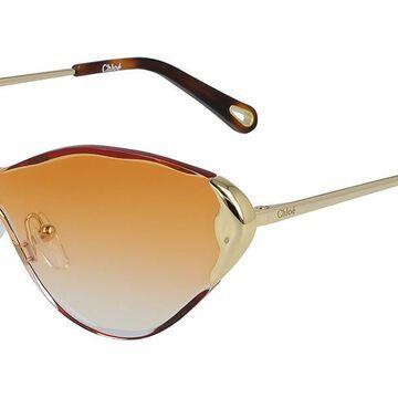 Chloe CE 163S 866 Womenas Sunglasses Gold Size 60