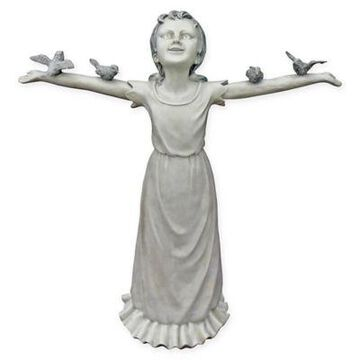 Design Toscano Basking in God's Glory Garden Statue in Stone