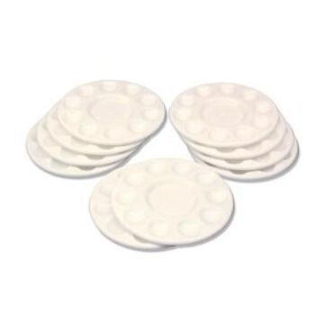 Pacon Pearl White Paint Trays, 10 Pack