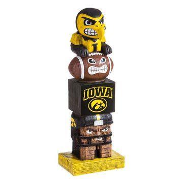 Iowa Hawkeyes Tiki Totem