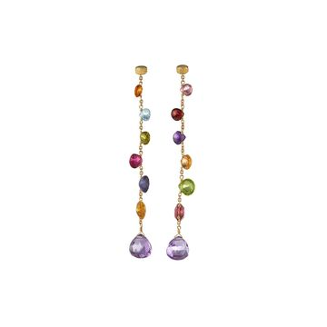 Paradise Elevated Mixed-Stone Drop Earrings