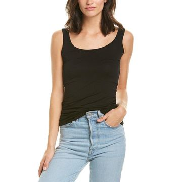 Three Dots Womens Long Fitted Tank
