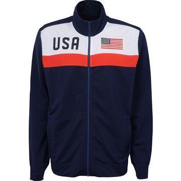 Outerstuff Men's USA Soccer Navy Track Jacket