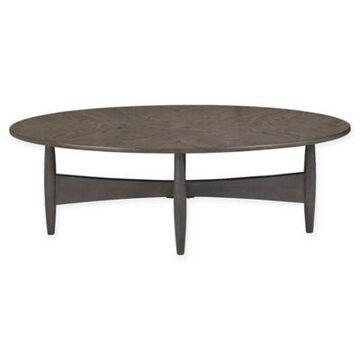 INK+IVY Ellipse Coffee Table in Oak