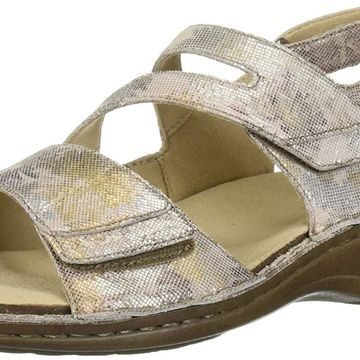 Aravon Women's Cambridge 3 Strap Wedge Sandal