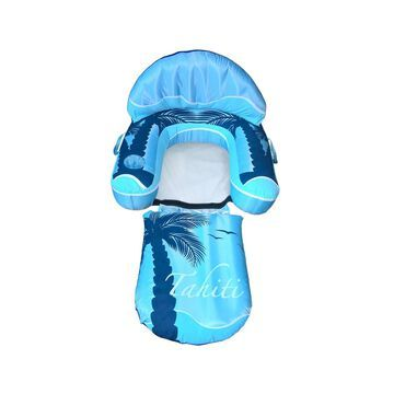 Blue Wave Sports Drift Plus Escape Inflatable Swimming Pool Lounger