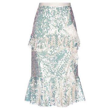 NEEDLE & THREAD 3/4 length skirt