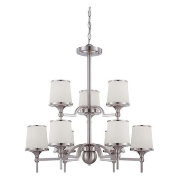 Hagen 9 Light Chandelier (1-4380-9-SN)