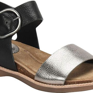 Sofft Womens Bali Leather Open Toe Casual Ankle