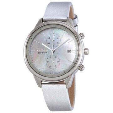 Citizen Women's Eco-Drive Chronograph Strap Watch FB2000-03D