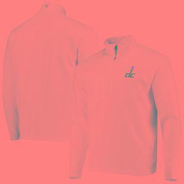 Levelwear Washington Wizards White Austin Quarter-Zip Jacket