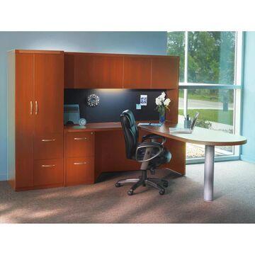 Mayline Aberdeen Series Typical 22 Office Suite (Mocha - N/A)