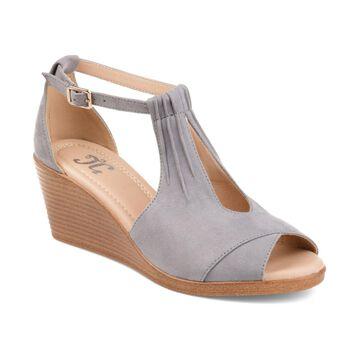 Journee Collection Women's Kedzie Wedges Women's Shoes