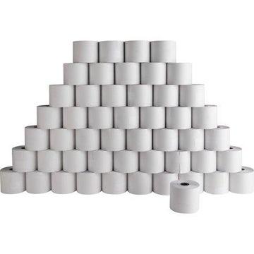 Sparco, SPR51207, Carbonless 90' Adding Machine Rolls, 50 / Carton, White