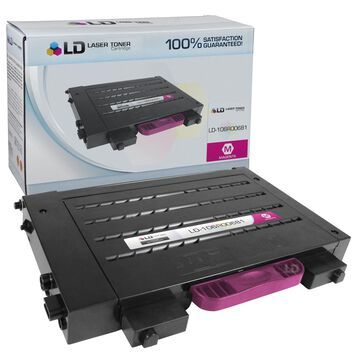 LD Compatible Xerox 106R00681 Magenta Laser Toner Cartridge for Phaser 6100
