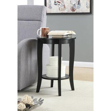 Convenience Concepts American Heritage Round End Table, Multiple Finishes