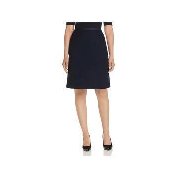 Lafayette 148 New York Womens Pencil Skirt Wool A-Line