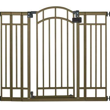 Summer Infant Multi-Use Deco Extra Tall Walk-Thru Gate Bronze