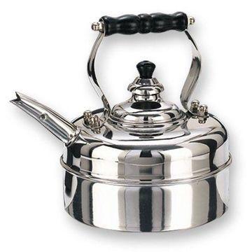 Old Dutch 601 3 Quart Stainless Steel Windsor Whistling Tea Kettle