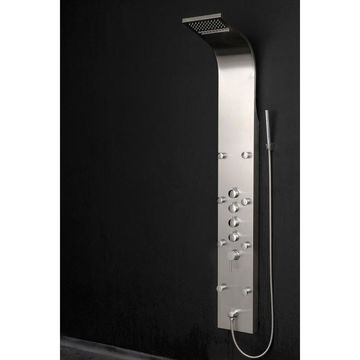 AKDY 63-in Stainless Steel 8-Spray Shower Panel System