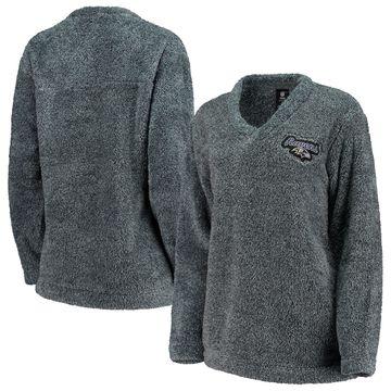 Baltimore Ravens Concepts Sport Women's Trifecta Pullover Sweatshirt Charcoal