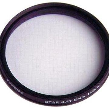Tiffen 37STR42 37mm Star 4 Point 2mm Filter