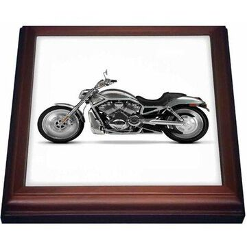 3dRose Trivet Picturing Harley-Davidson Motorcycle