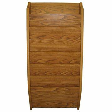 Wooden Mallet 7 Pocket Legal Size File Holder Medium Oak 3.8x17x36 CH17-7MO