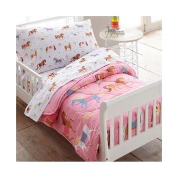 Wildkin's Horses 4 Pc Bed in a Bag - Toddler Bedding