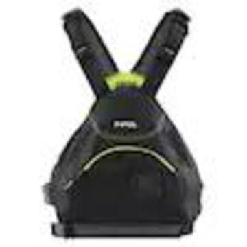 NRS Ninja Adult Small Medium PFD Type III Boating Kayak Life Jacket Vest, Black