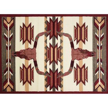 United Weavers Legends Bone Arrow Rug - 5'3'' x 7'2'', Multicolor, 5X7 Ft
