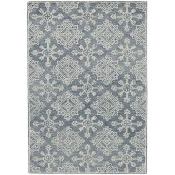 Amer Rugs Bobbie Suzanne Hand-Tufted Wool 5' X 7'6 Area Rug In Dark Grey