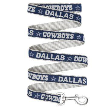 Pets First Dallas Cowboys Leash, Small, Multi-Color