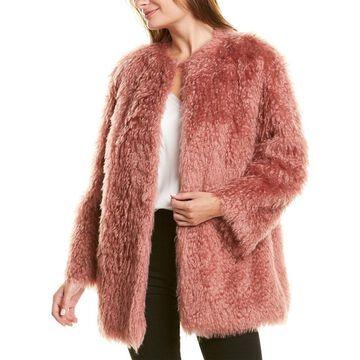 Les Copains Mohair-Blend Coat