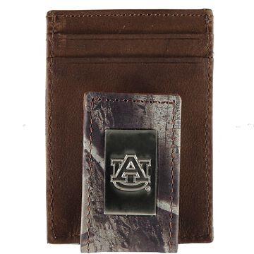 Auburn Tigers Front Pocket Camo Wallet