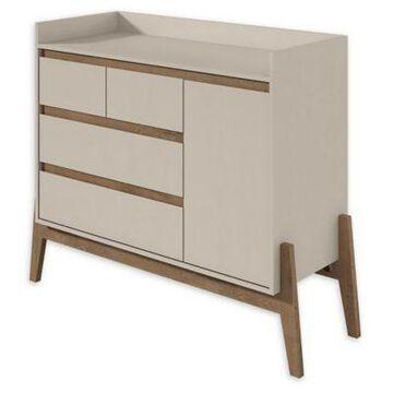 Manhattan Comfort Essence Dresser in White