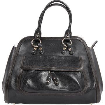 Anya Hindmarch Black Leather Handbags
