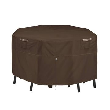 Madrona Waterproof Small Square Patio Bar Table & Chair Cover - Classic Accessories