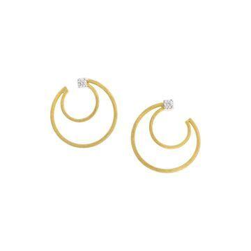 Marco Bicego Luce 18K Two-Tone 0.20 Ct. Tw. Diamond Earrings