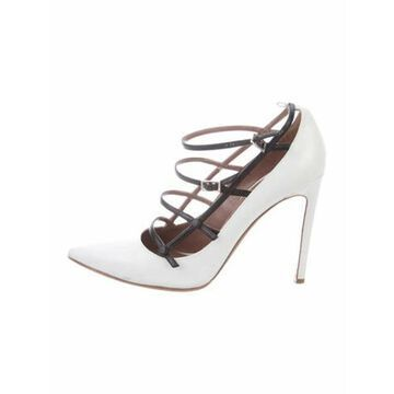 Leather Pumps White