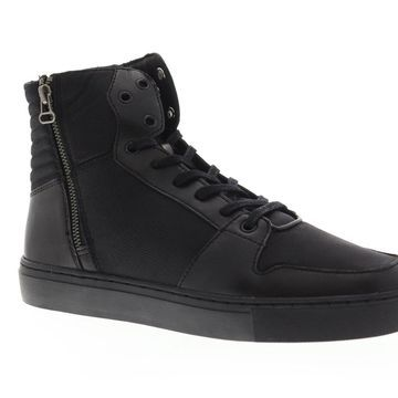 Creative Recreation Alteri Black Black Mens High Top Sneakers