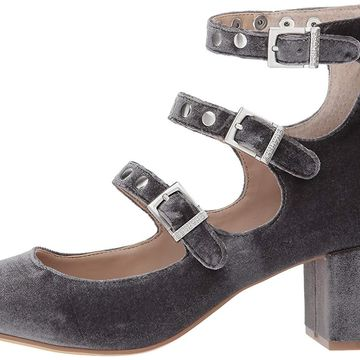 Charles by Charles David Womens Lewis Closed Toe Ankle Strap