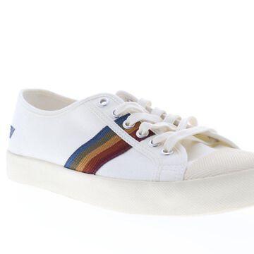 Gola Coaster Spectrum Off White Multi Mens Low Top Sneakers