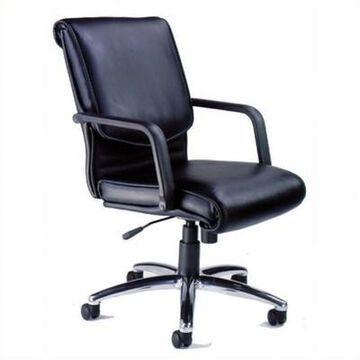 Safco Mercado Alliance Office Chair - Black - Mayline