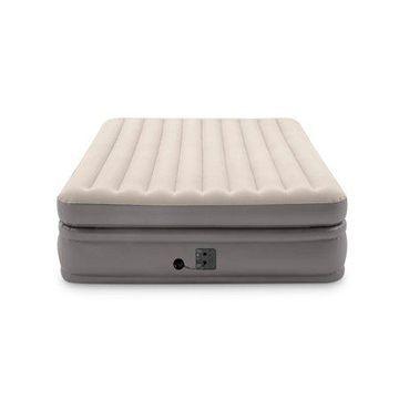 Intex -Queen Comfort Elevated Fiber-Tech Airbed